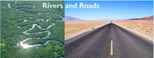 Rivers and Roads, which route do you take?