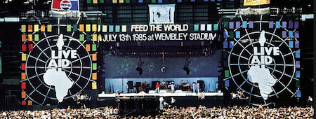 ES Global Stage was used at Live Aid in 1985